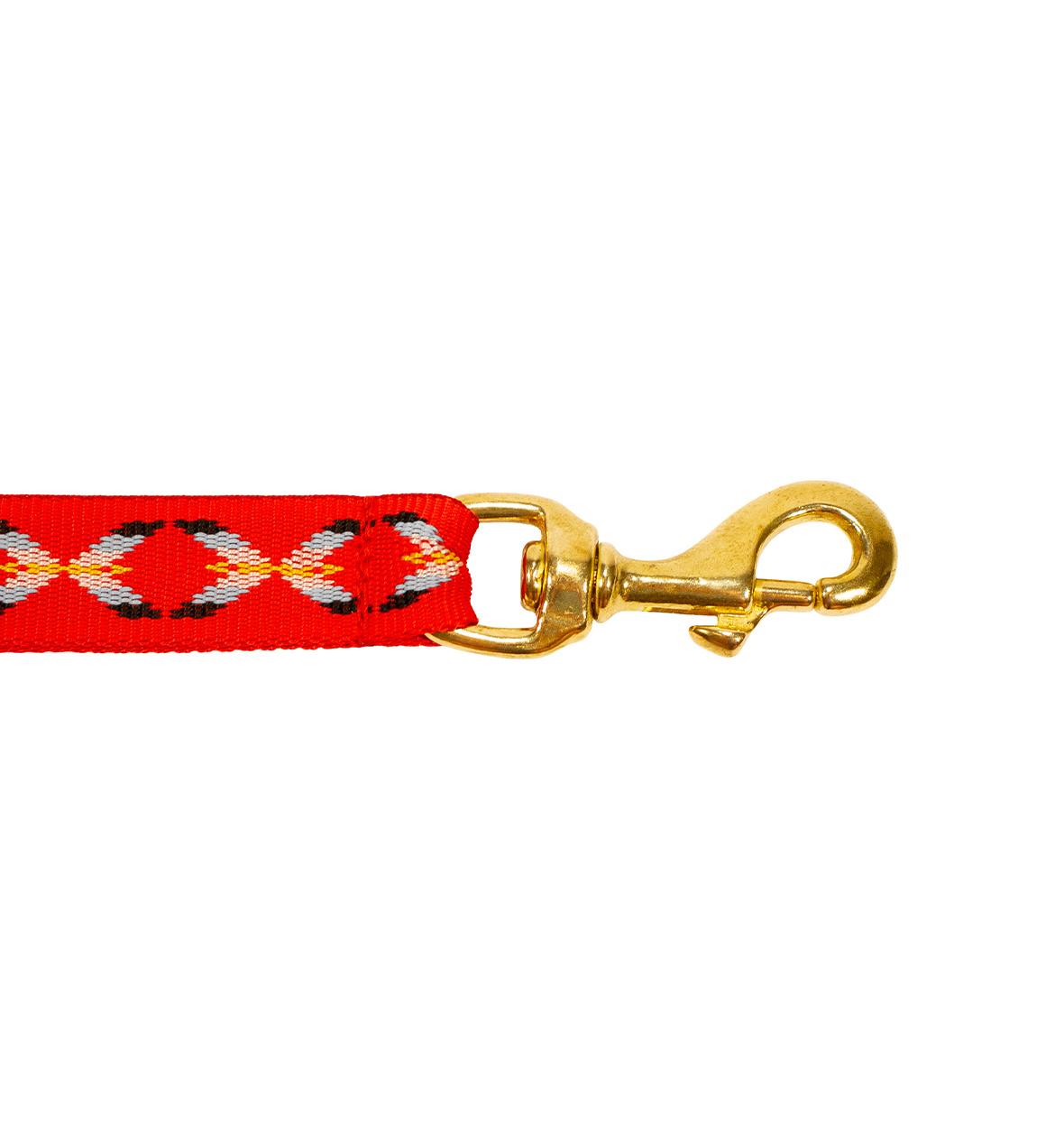 Northern Howl Northern Howl Jöring Canicross Leine mit integrierten Ruckdämpfer in Rot