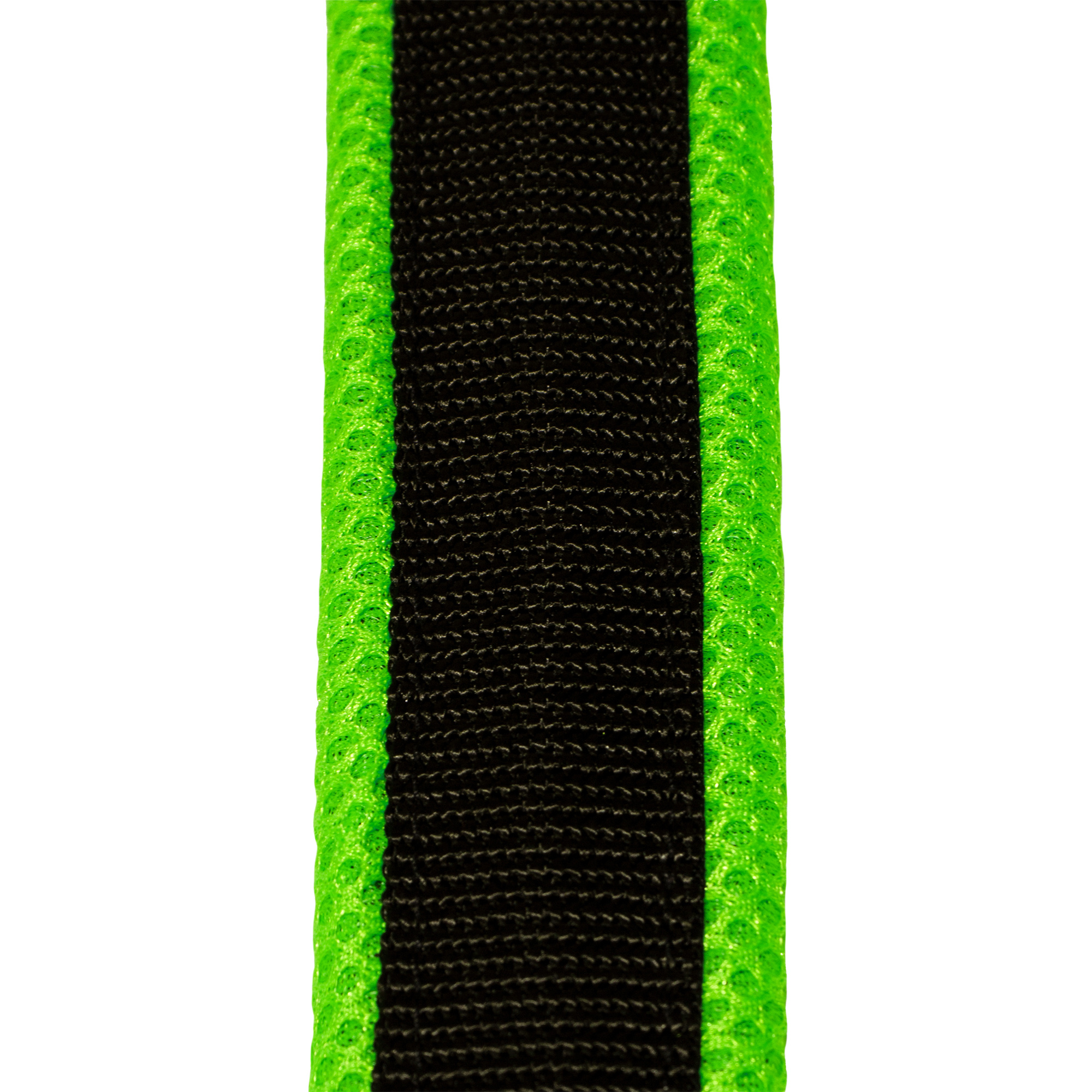 LasaLine LASALINE Weight Pulling Dog Harness, X-Back Style for Canicross, Bike, Sled, Scooter, Bike-, Ski-Joring, Jogging,... in black with neon green padding