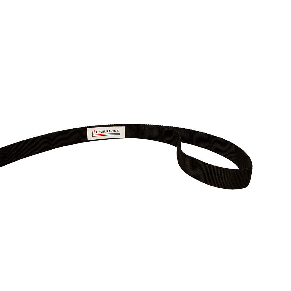 LASALINE LASALINE Double Lead with Integrated Shock Absorber for 2 Dogs - Black