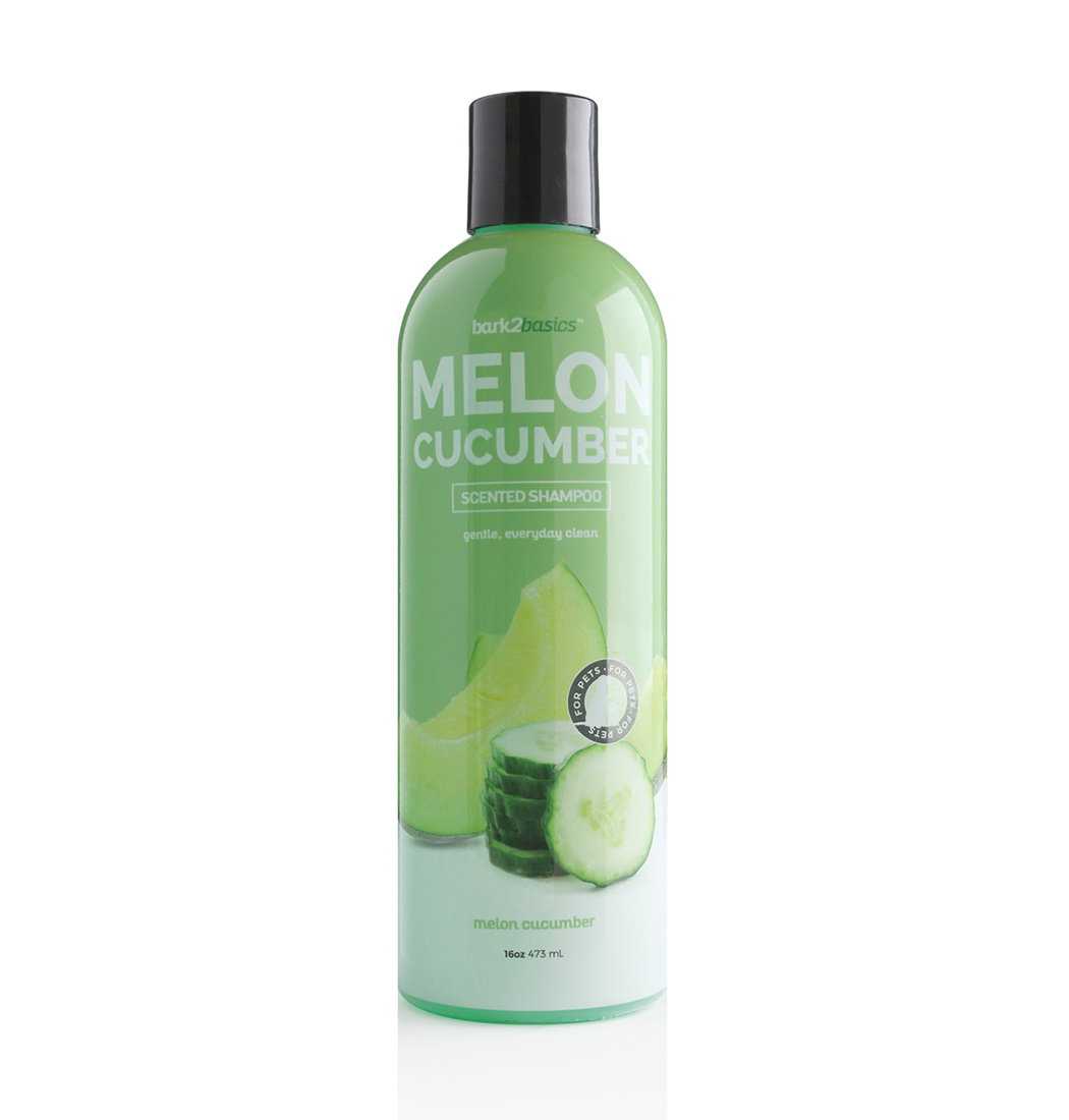 Bark2basics Bark2Basics Melon Cucumber Dog Shampoo for a shiny coat