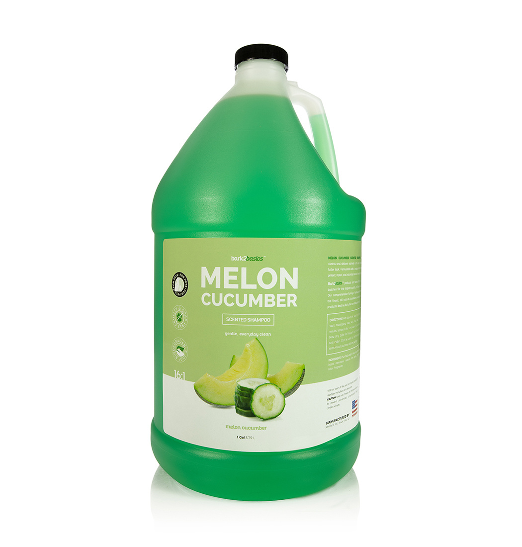 Bark2basics Bark2Basics Melon Cucumber Hunde Shampoo für ein glänzendes Fell