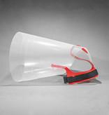 NOVAGUARD Protection contre le léchage NOVAGUARD PN408, taille : grand, couleur : rouge