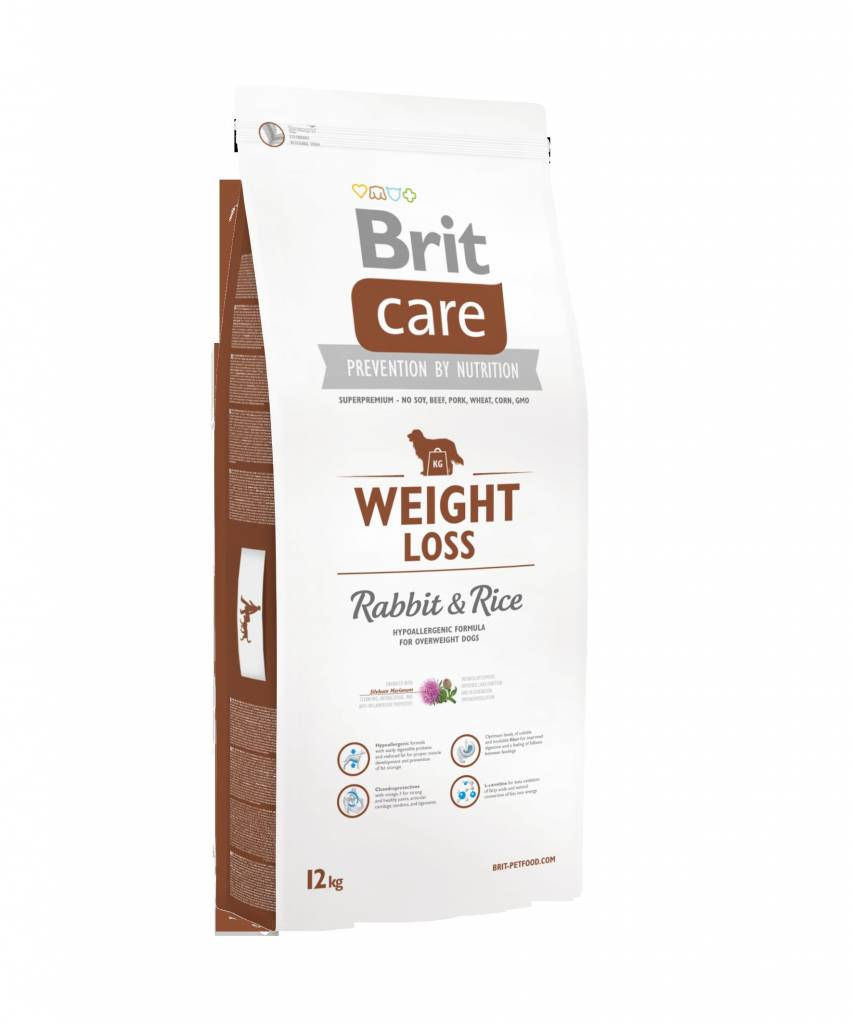 Brit Hundefutter Brit Care Weight Loss Rabbit & Rice