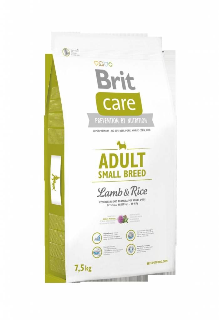 Brit Hundefutter Brit Care Adult Small Breed Lamb & Rice