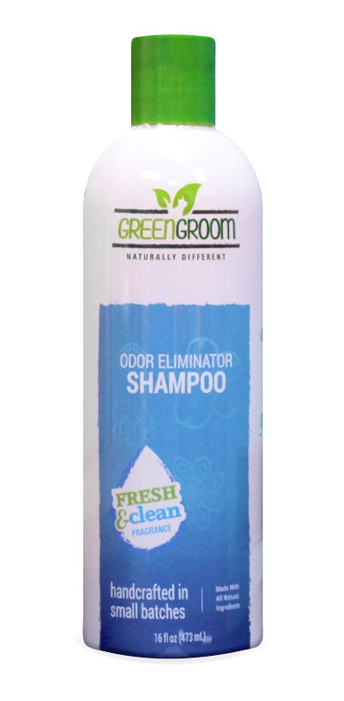 Hundeshampoo gegen Geruch, Green Groom Odor Eliminator Shampoo
