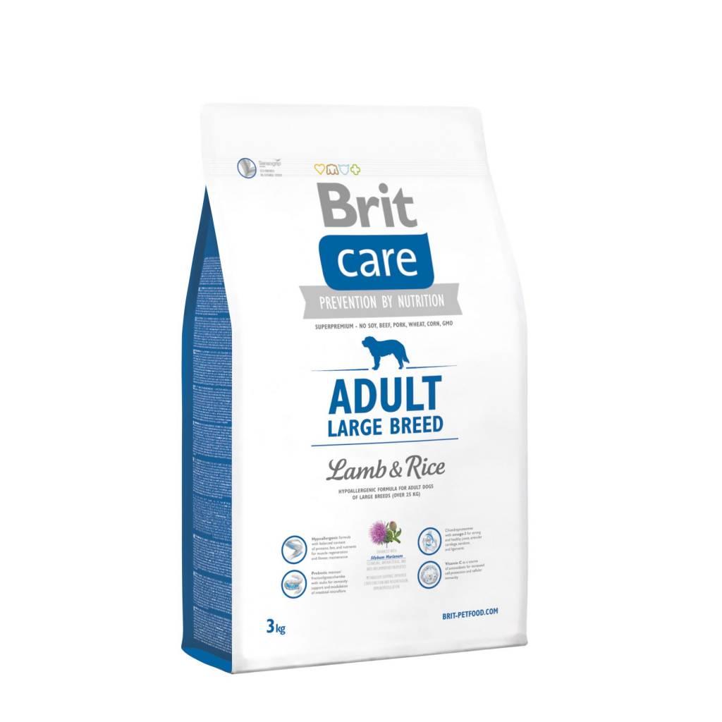 Brit Hundefutter Brit Care Adult Large Breed Lamb & Rice