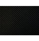Lasagroom Air Mesh Tissu Noir 4 mm