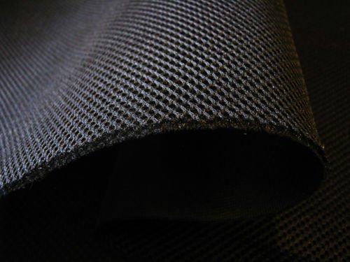 Lasagroom Air Mesh Fabric Black 3mm