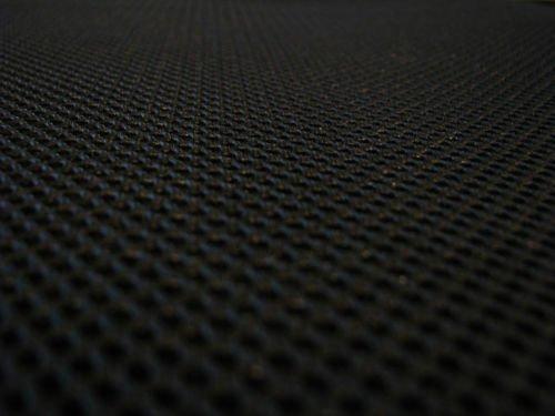 Lasagroom Air Mesh Fabric Black 4mm