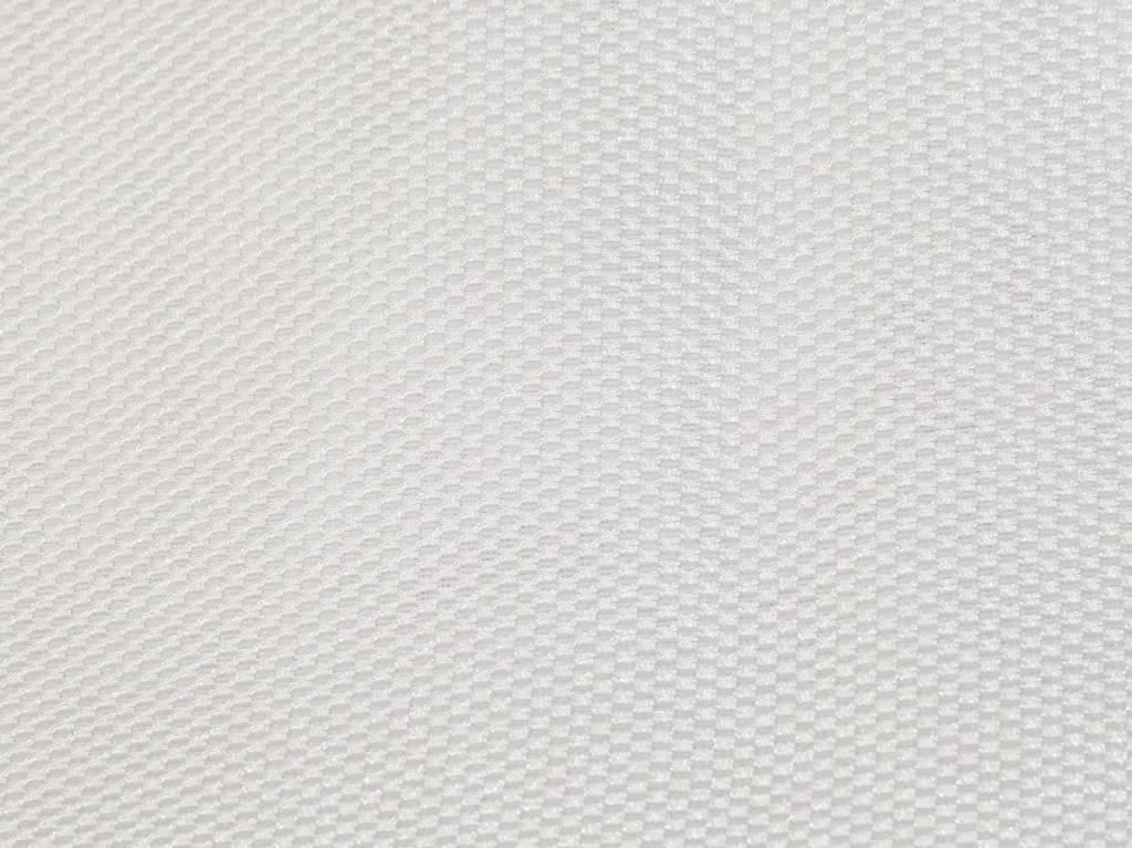 Lasagroom Air Mesh Tissu blanc 4 mm