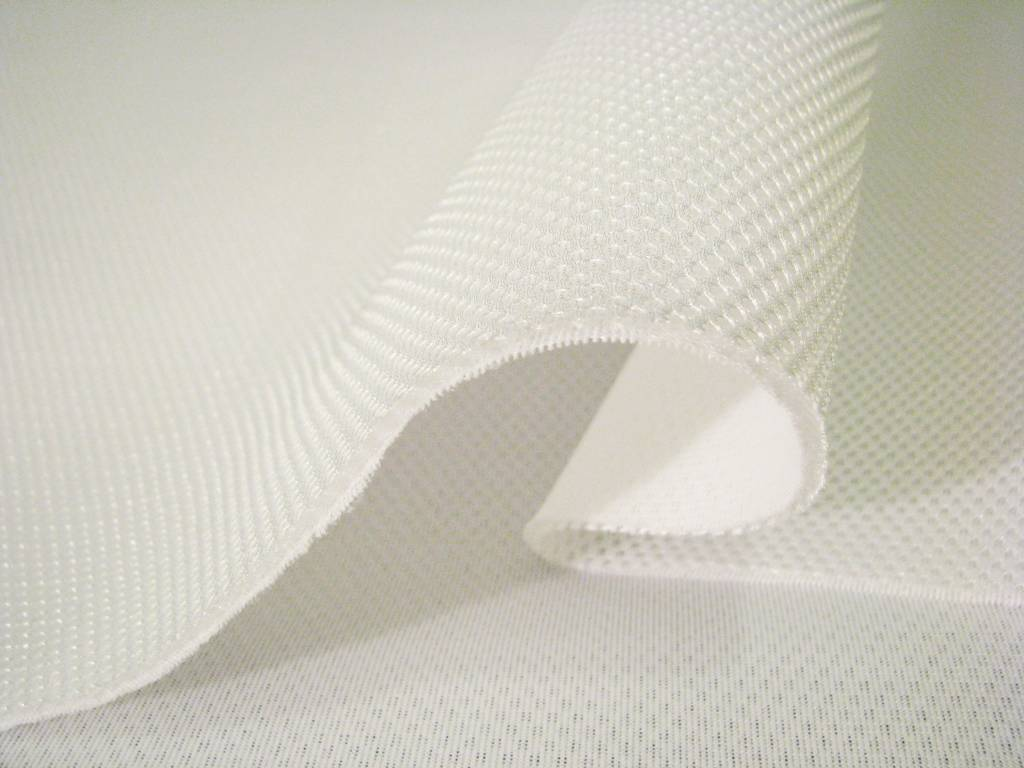 Lasagroom Air Mesh Fabric White 4mm