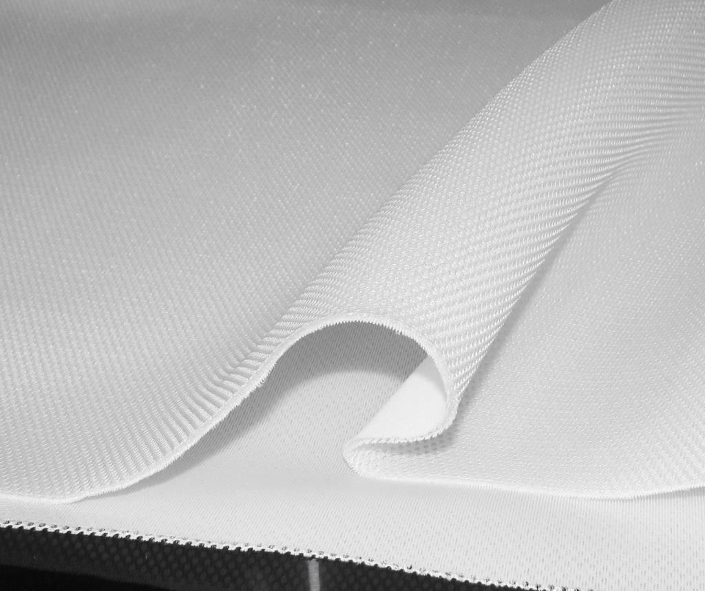 Airmesh weiß 4mm / 1 lfm x 1,60m Breite
