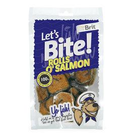 Brit Hundefutter Lets Bite Rolls o'Salmon