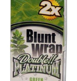 Platinum Double - Blunt Wrap - Green