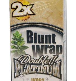 Platinum Double - Blunt Wrap - Ivory