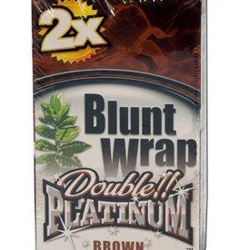 Platinum Double - Blunt Wrap - Brown