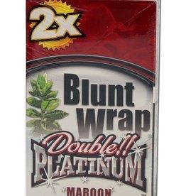 Platinum Double - Blunt Wrap - Maroon