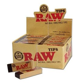 RAW - Natural Unrefined Tips