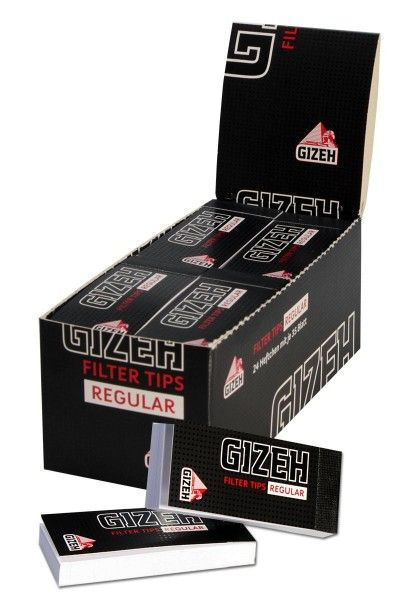 Gizeh - Black Tips Regular
