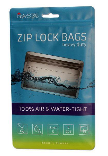Noaks Bags 168x80mm - Klar - 0,1mm