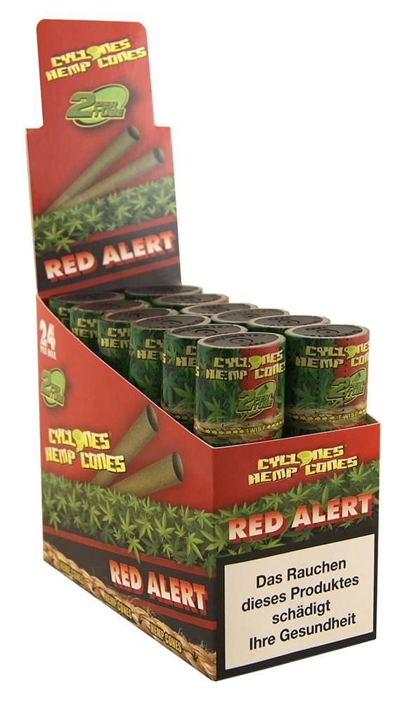 Cyclones Hemp Cones Red Alert