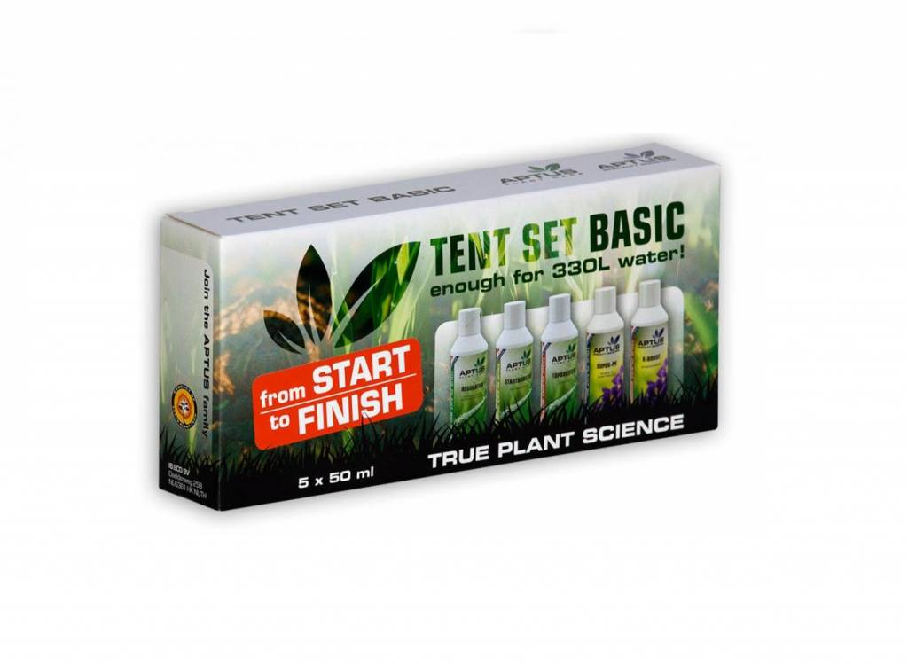 Aptus Tent Set Basic 6x 50ml STARTER-SET