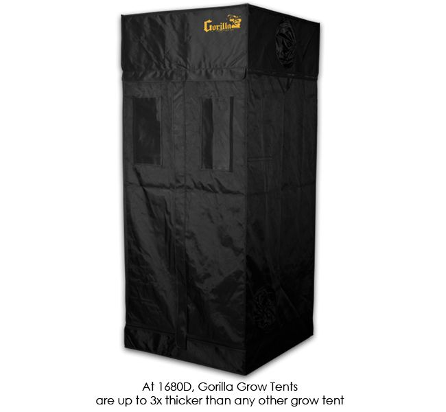 Gorilla Grow Zelt 92x92cm