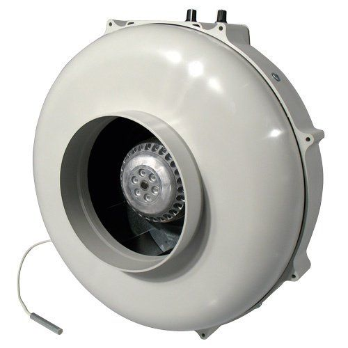 PK Rohrventilator 400m³/125mm/Temp.gesteuert