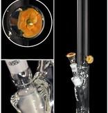 Zylinder Eis / Flowers / 50 x 500 x 5 mm / Panzerschliff / 3-teilig