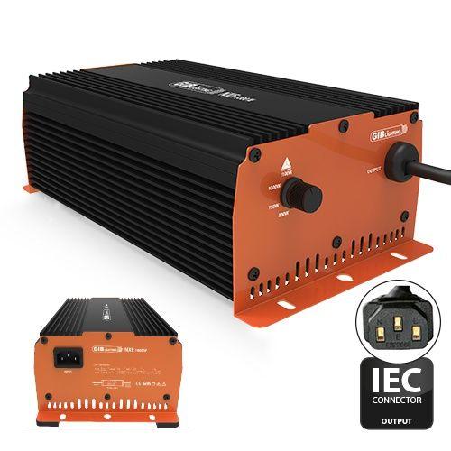 GIB NXE 1000 Watt, regelbar, IEC
