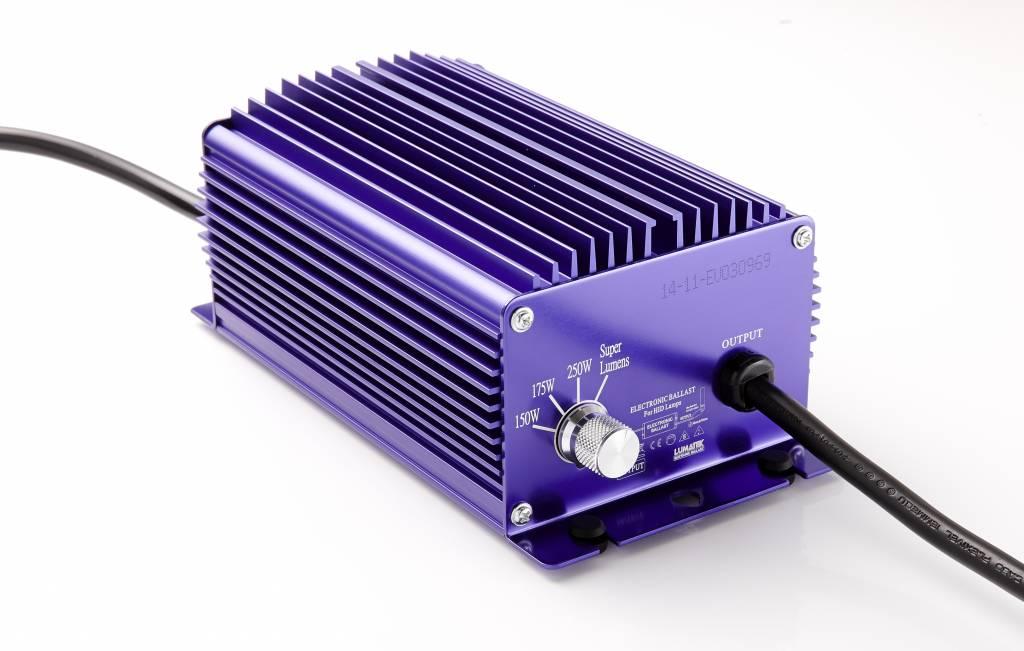 Lumatek 250 Watt, regelbar, IEC Adapter