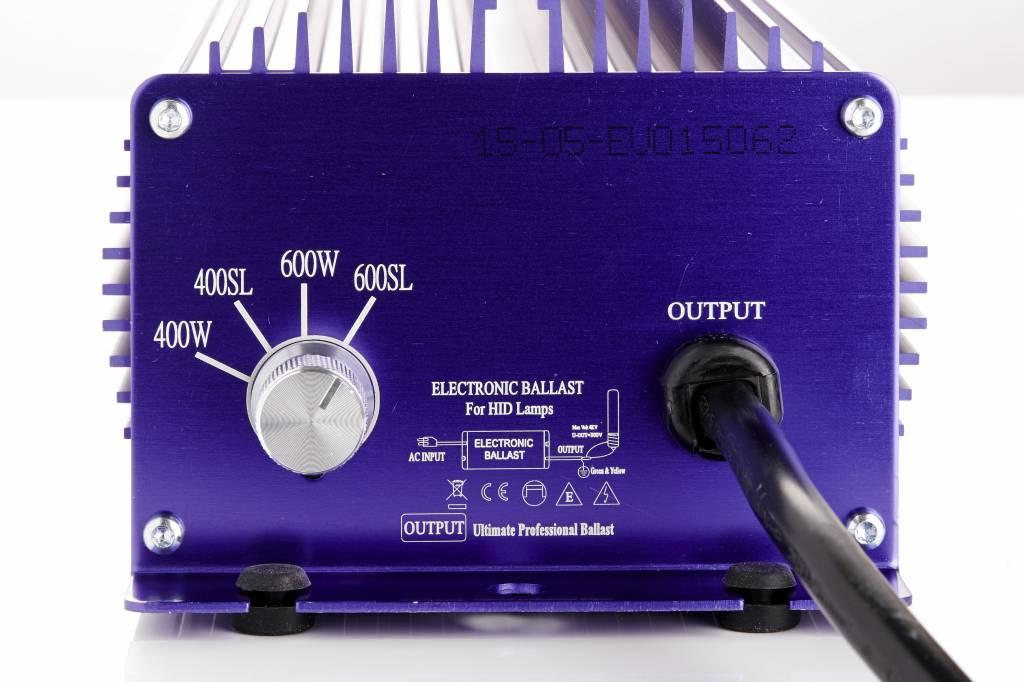 Lumatek 600 Watt, regelbar, 400 V