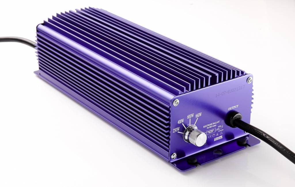 Lumatek 600 Watt, regelbar, 4m Kabel