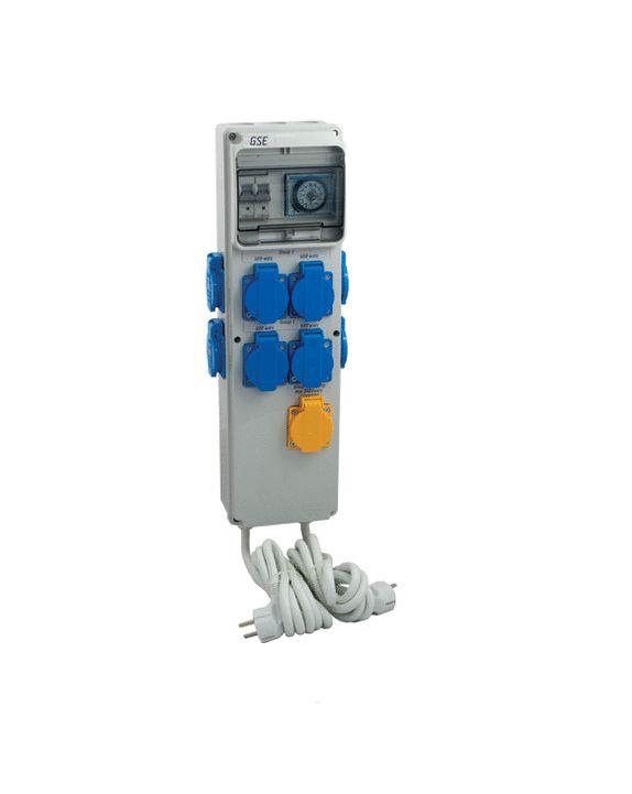 GSE Timerbox III - 8x600W / +HZ