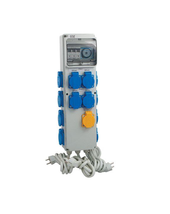 GSE Timerbox III - 12x600W / +HZ