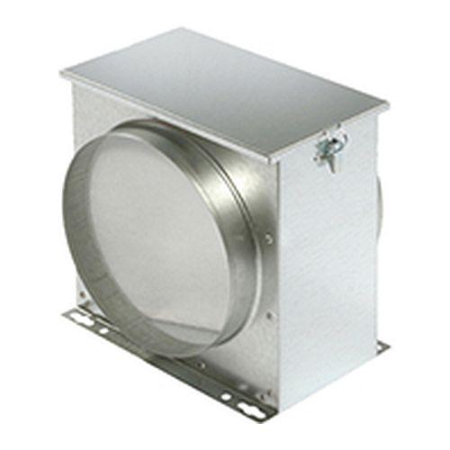 Filterbox mit Filtervlies - Ø 100