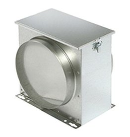 Filterbox mit Filtervlies - Ø 160