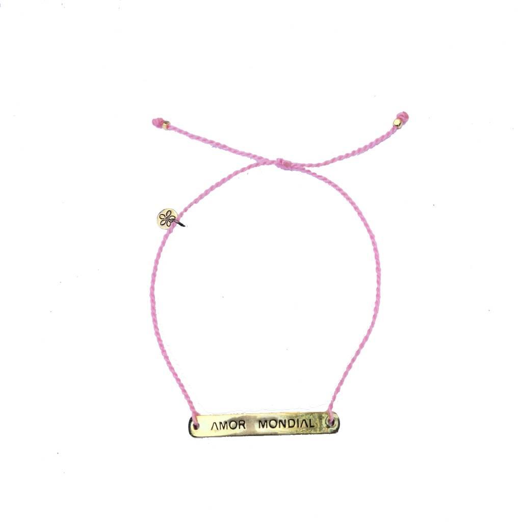 Bracelet Pink Amor Mondial