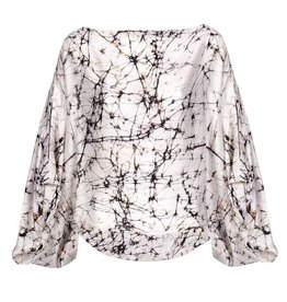 Top Ganges Marbled Silk