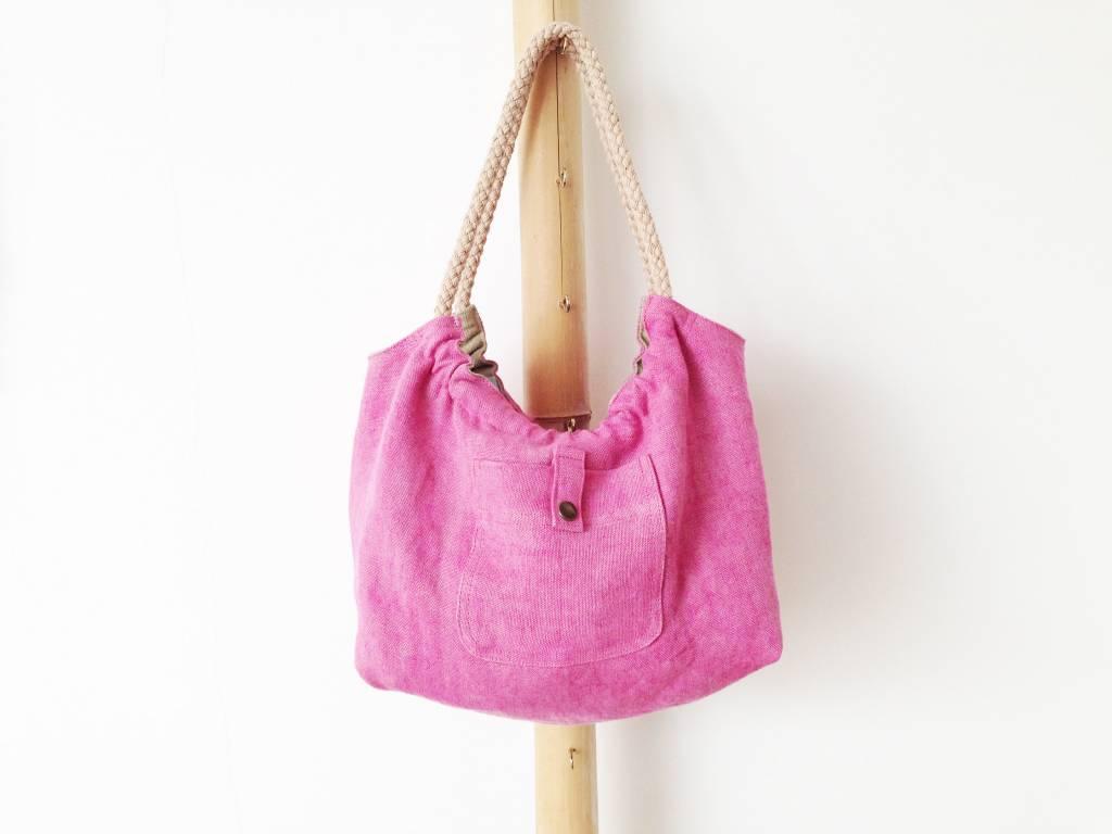 Bag 'Plage Amor' Pink