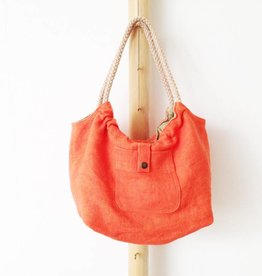 Bag 'Plage Amor' Papaya