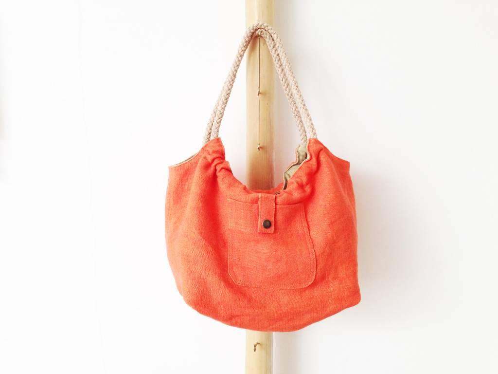 Bag 'Plage Amor' Papaya