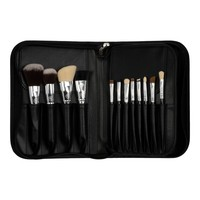 Boozy Cosmetics 24 pc Brush Case Black