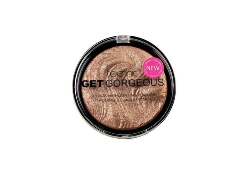 Technic Get Gorgeous Bronzing Gold Highlighter Powder