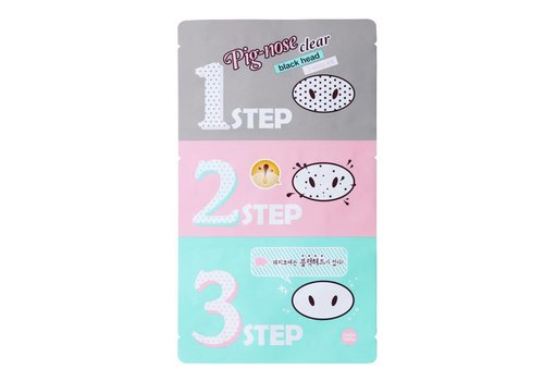 Holika Holika Pig Nose Clear Blackhead 3-Step Kit