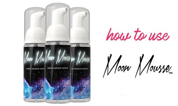 Kapotte make-up? Fix het met Moon Mousse!