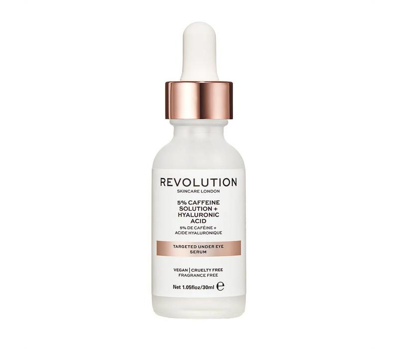 Revolution Skincare Targeted Under Eye Serum - 5% Caffeine Solution + Hyaluronic Acid