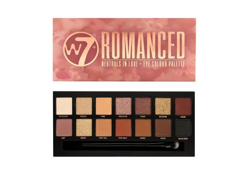 W7 Cosmetics Romanced Eyeshadow Palette