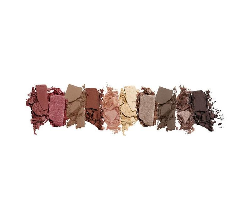 LA Colors Color Block Eyeshadow Palette Nude