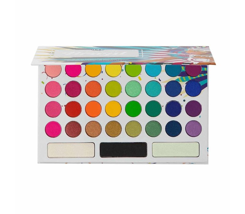 BH Cosmetics Take Me Back To Brazil Pressed Pigment Eyeshadow Palette